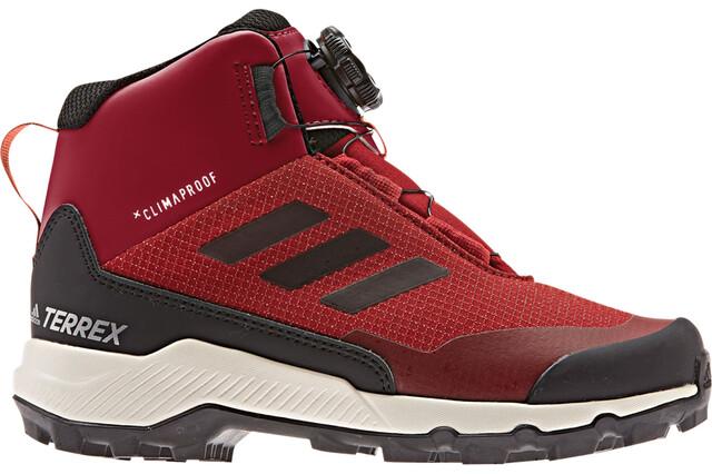 adidas TERREX Mid Boa Schuhe Kinder maroon